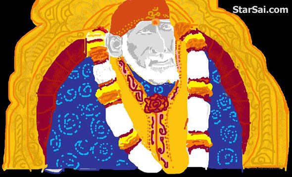 I feel this Sai baba is so powerful and majestic in his samadhi mandhir