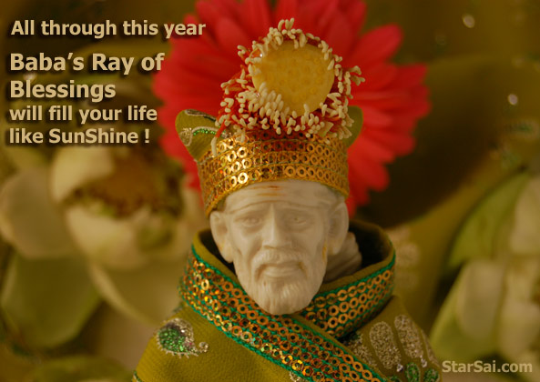 Saibaba of shirdi blessings for a happy life