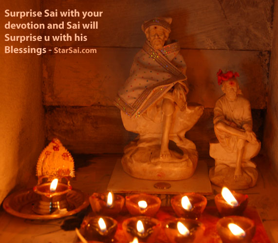 Sai leela are not powers of saint, its your faith that gives power to Saibaba