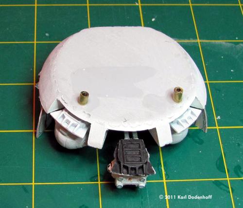 Starship Modeler - Stargazer's 1/144 Discovery Built
