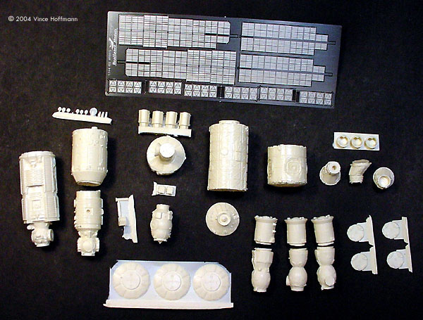 Starship Modeler - RealSpace ISS Detail Set Kit Preview