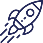 Rocket ship for growth services