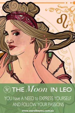 Moon in Leo