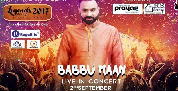 Babbu Maan Live in Concert Legends of Sufi 2017