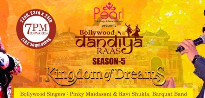 Bollywood Dandiya Raas Season 5 September 2017