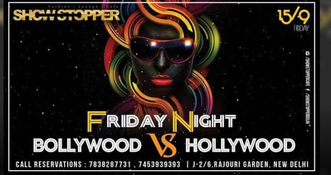 Bollywood Vs Hollywood Event Date & Time