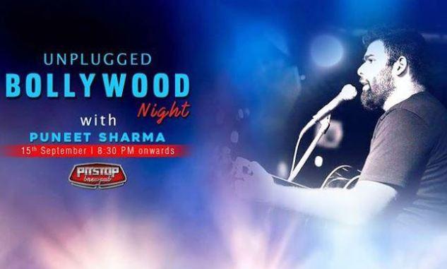 Unplugged Bollywood Night with Puneet Sharma