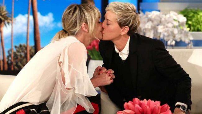 Ellen DeGeneres and her wife Portia de Rossi