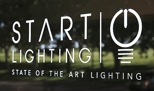 start lighting sign LED lighting