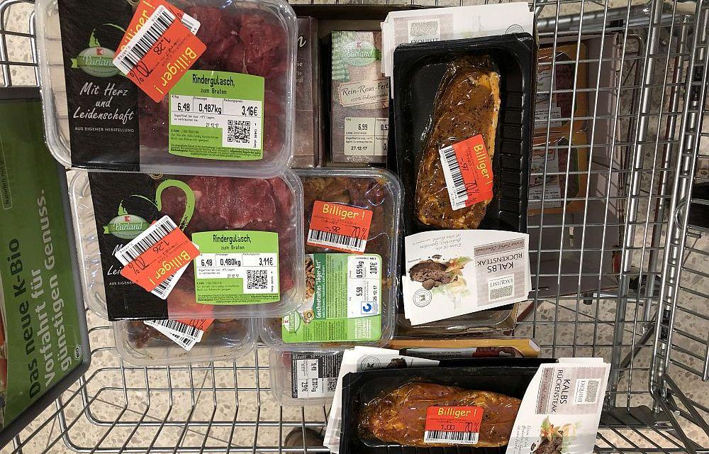 Enormes Einsparpotenzial beim Lebensmittelkauf vor Weihnachten und Silvester