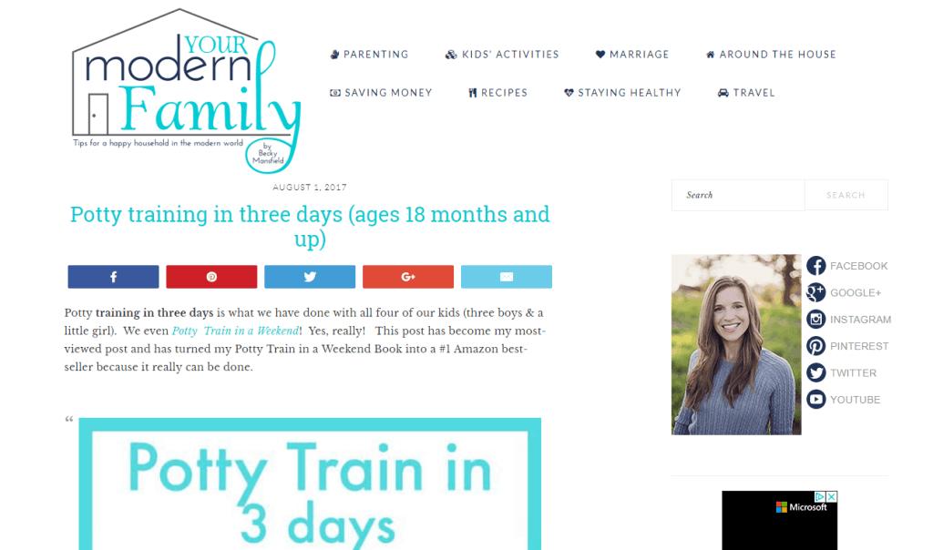 blogging for moms