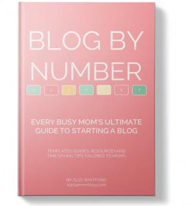 Blog by Number start a blog ebook