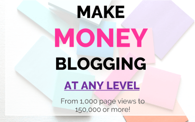 Make Money Blogging at any Level