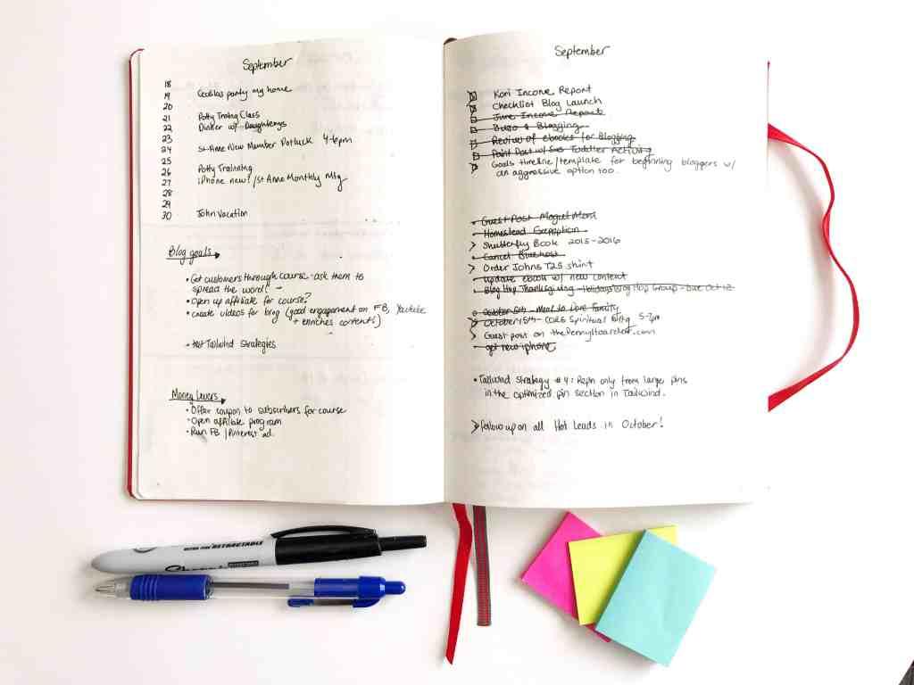 Bullet Journal Time Management