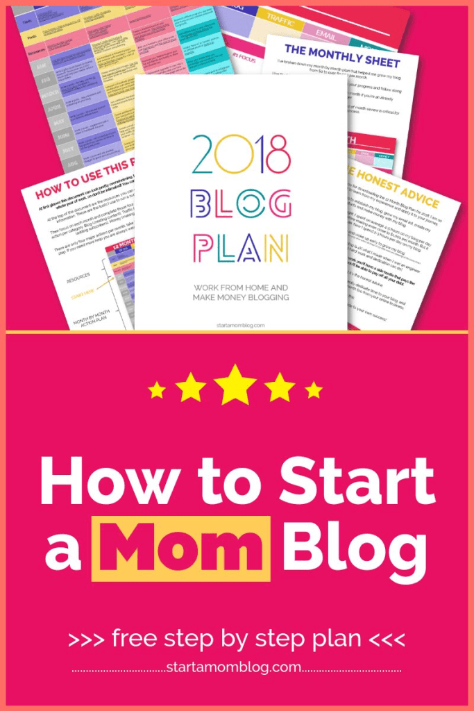 How to start a mom blog free step by step guide