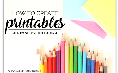 How To Create Freebies, Printables, and Opt-ins To Grow Your Email List – Step by Step Video