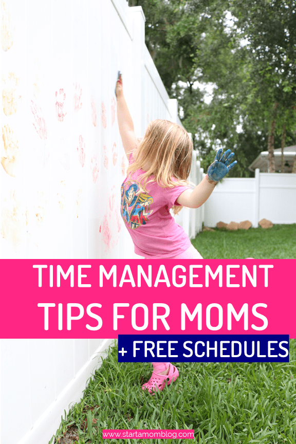 Time Management Tips for Moms #workfromHome #timemanagement #momhacks #productivity