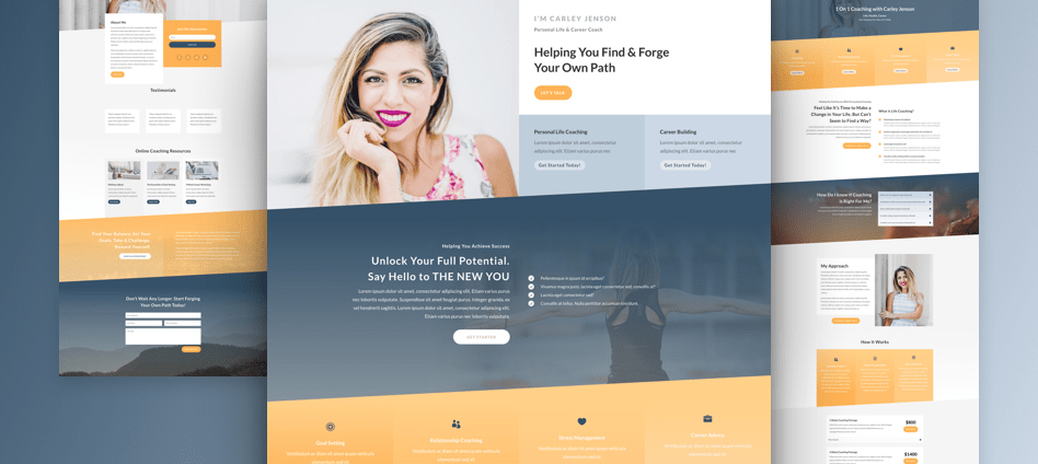 divi layout coach