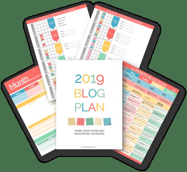 Blog Plan Schedule