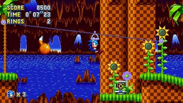 Test de Sonic Mania