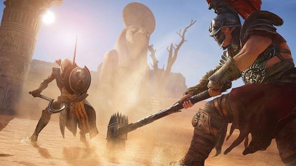 Test Assassin's Creed Origins sur Xbox One X