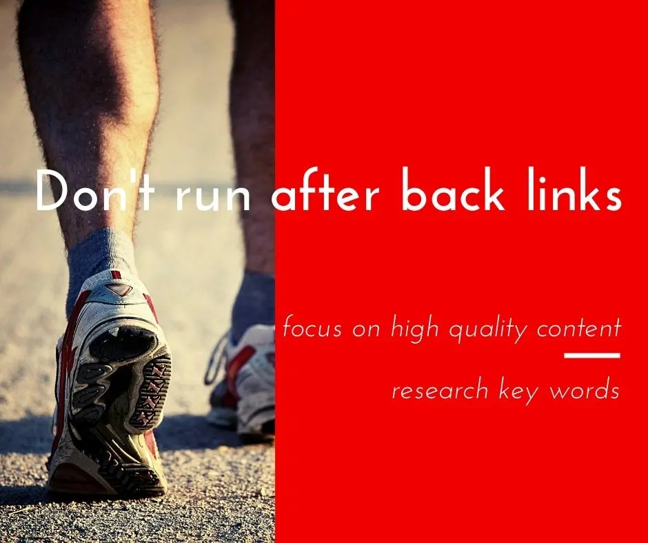 Should bloggers run after domain authority and page rank