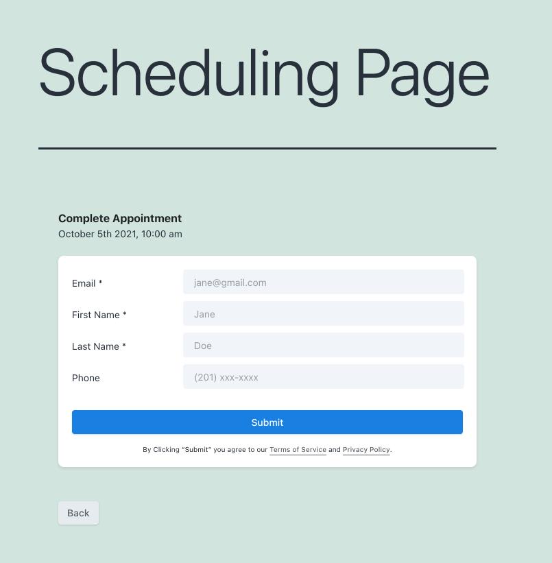 Capture customer details with WordPress
