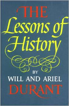 the lessons of history will durant book