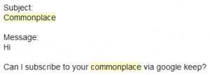 commonplace gmail4