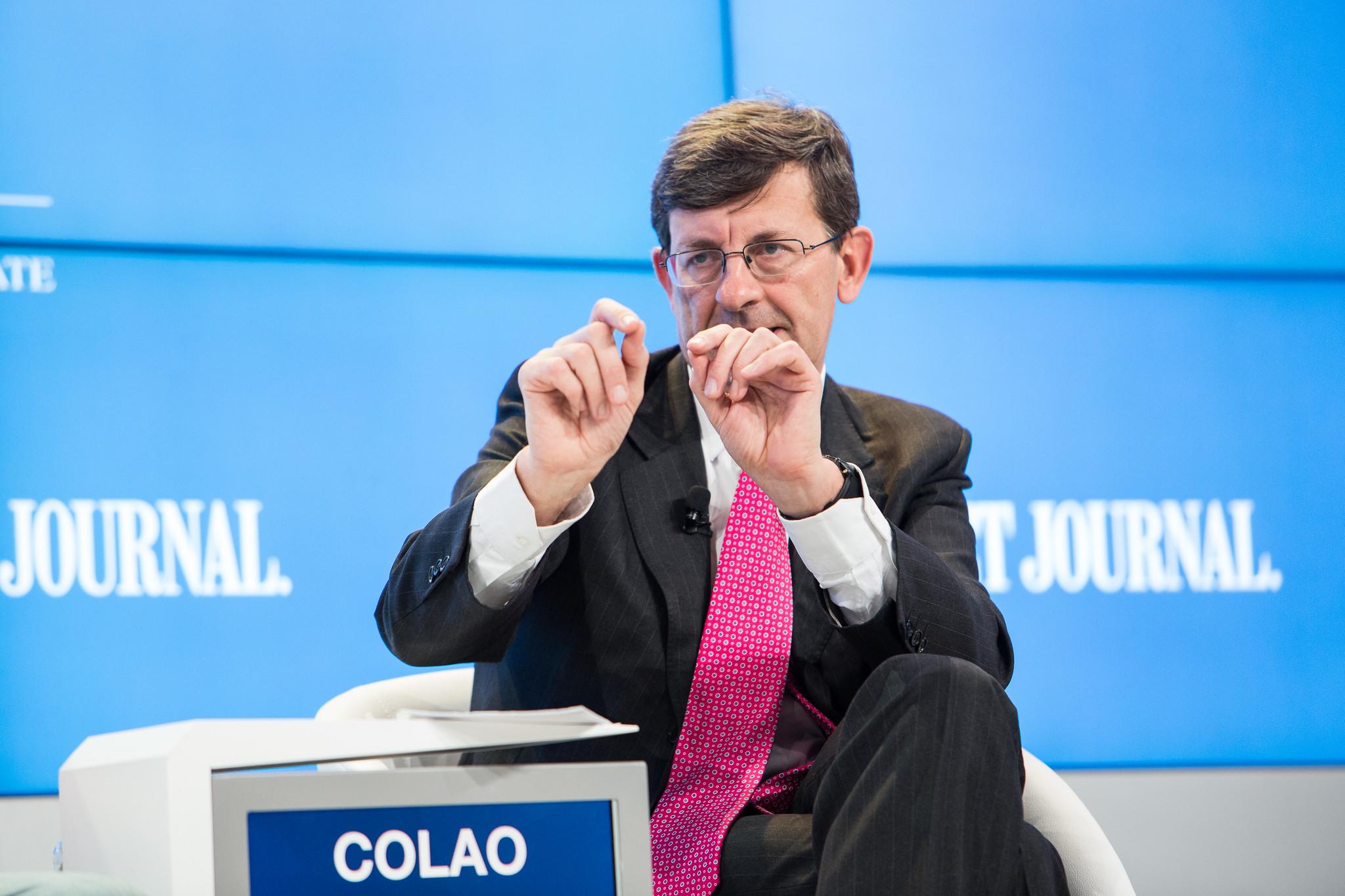 維托里奧·科勞(Vittorio Colao),信息通信技術,數字,雲和網絡防禦創新部長的所有想法
