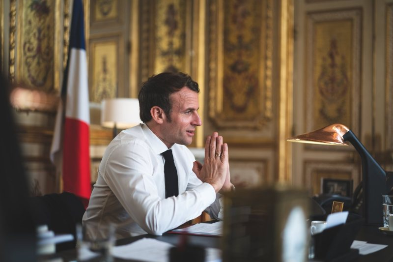 Because after the elections the French Senate will make a civic opposition to Macron