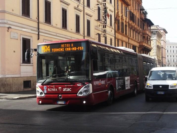 Atac y más allá, la Región de Lazio ha abolido los controladores en el transporte público