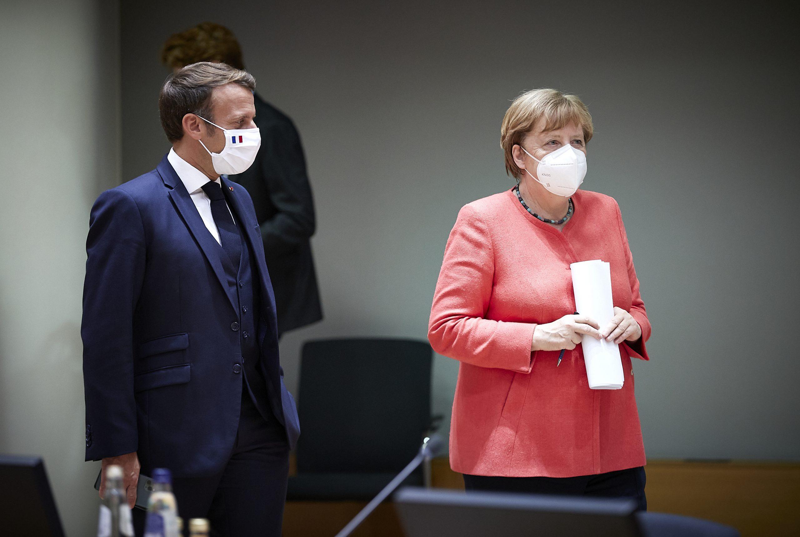 マクロンはメルケル後の時代にドイツとのより多くの関係を模索するからです