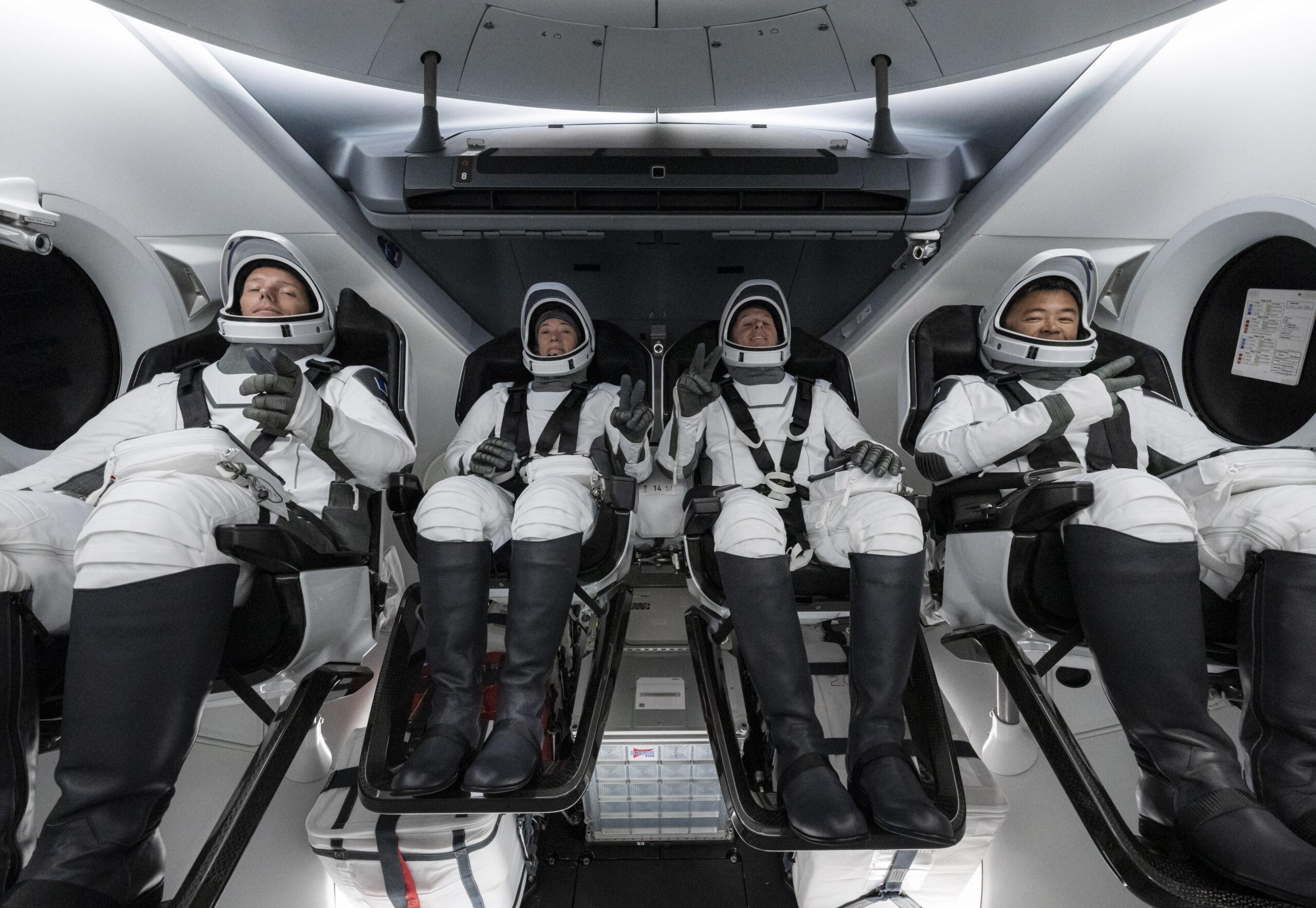 """Space,SpaceX的首位登上Iss的""""乘員龍""""登上歐洲"""