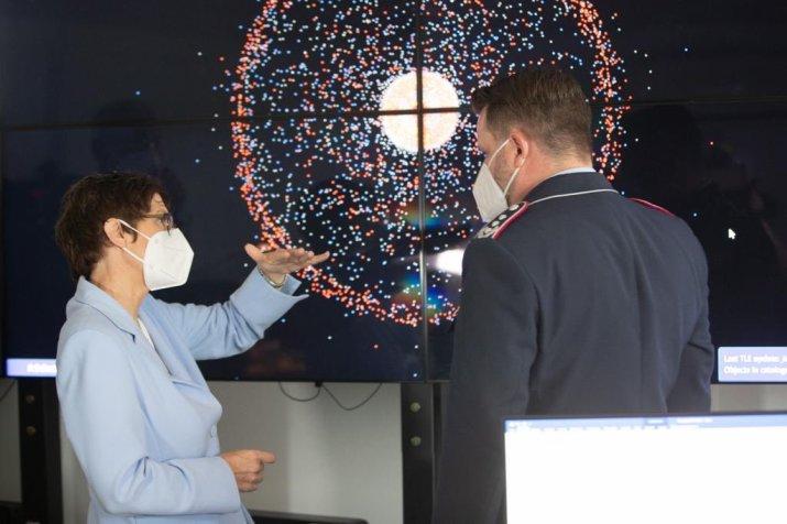 Ce que fera le nouveau commandement spatial allemand