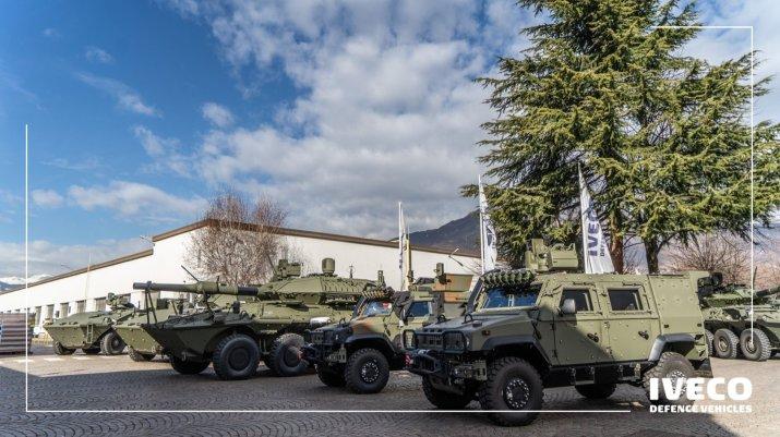 ¿Qué combinará CNH con Iveco Defense?