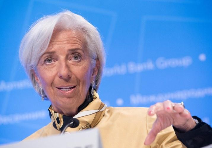 Weil die EZB nicht bankrott gehen oder kein Geld mehr haben kann. Wort von Lagarde