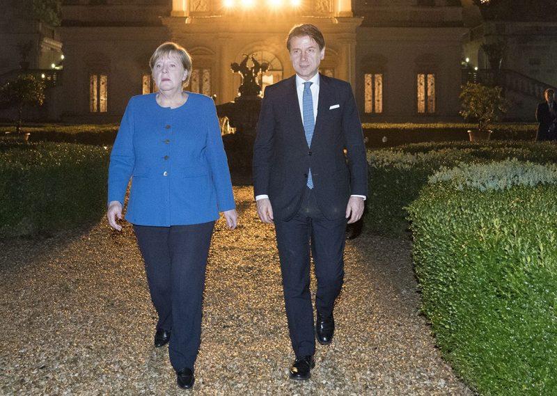Знаете ли вы, что Меркель не дергала Конте-суль-Мес?