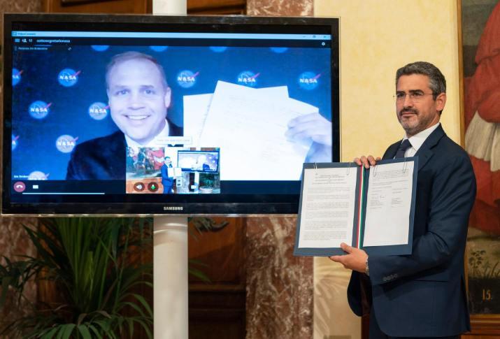 Ce que Leonardo fera pour Artemis, tous les détails sur l'accord Italie-USA