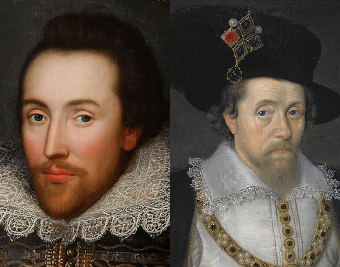 麥克白和莎士比亞向詹姆斯·斯圖爾特致敬