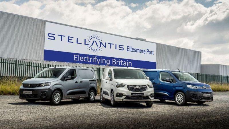 Стеллантис, Элканн электрифицированы в Великобритании, а Джонсон празднует