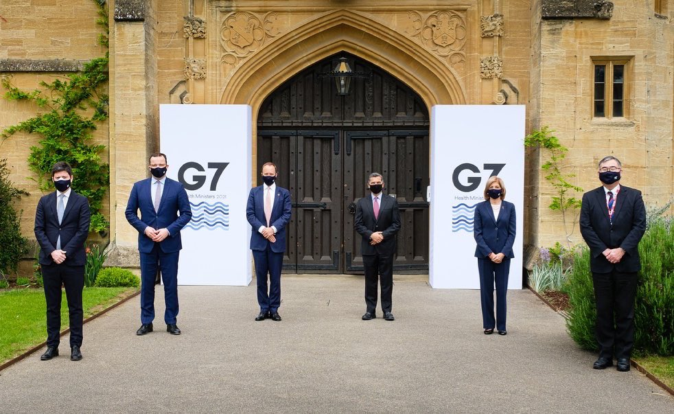 因為G7 Health要攻擊抗生素