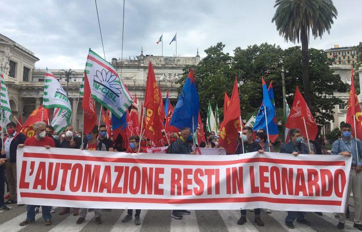 Leonardo, todos los tirones políticos de la ex Elsag