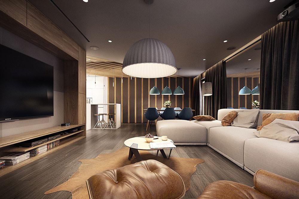 Quando si decide di costruire o ristrutturare casa, una delle difficoltà più grandi da affrontare è la comprensione dei progetti. Stupendo Appartamento Moderno Elegante E Drammatico Design Ad Alto Contrasto Per Una Casa Moderna Start Preventivi