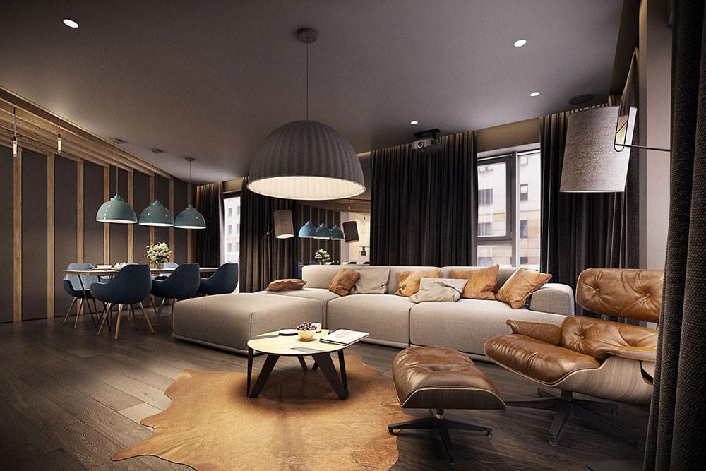 Obiettivo del progetto è stato quello di sviluppare una continuità funzionale tra l'architettura e il. Stupendo Appartamento Moderno Elegante E Drammatico Design Ad Alto Contrasto Per Una Casa Moderna Start Preventivi