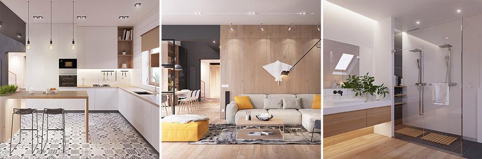 Va bene mixare antico e moderno, ma in casa si deve comunque poter distinguere uno stile predominante. Originale Appartamento In Stile Scandinavo Moderno Ed Elegante Arredamento Casa Moderna Start Preventivi