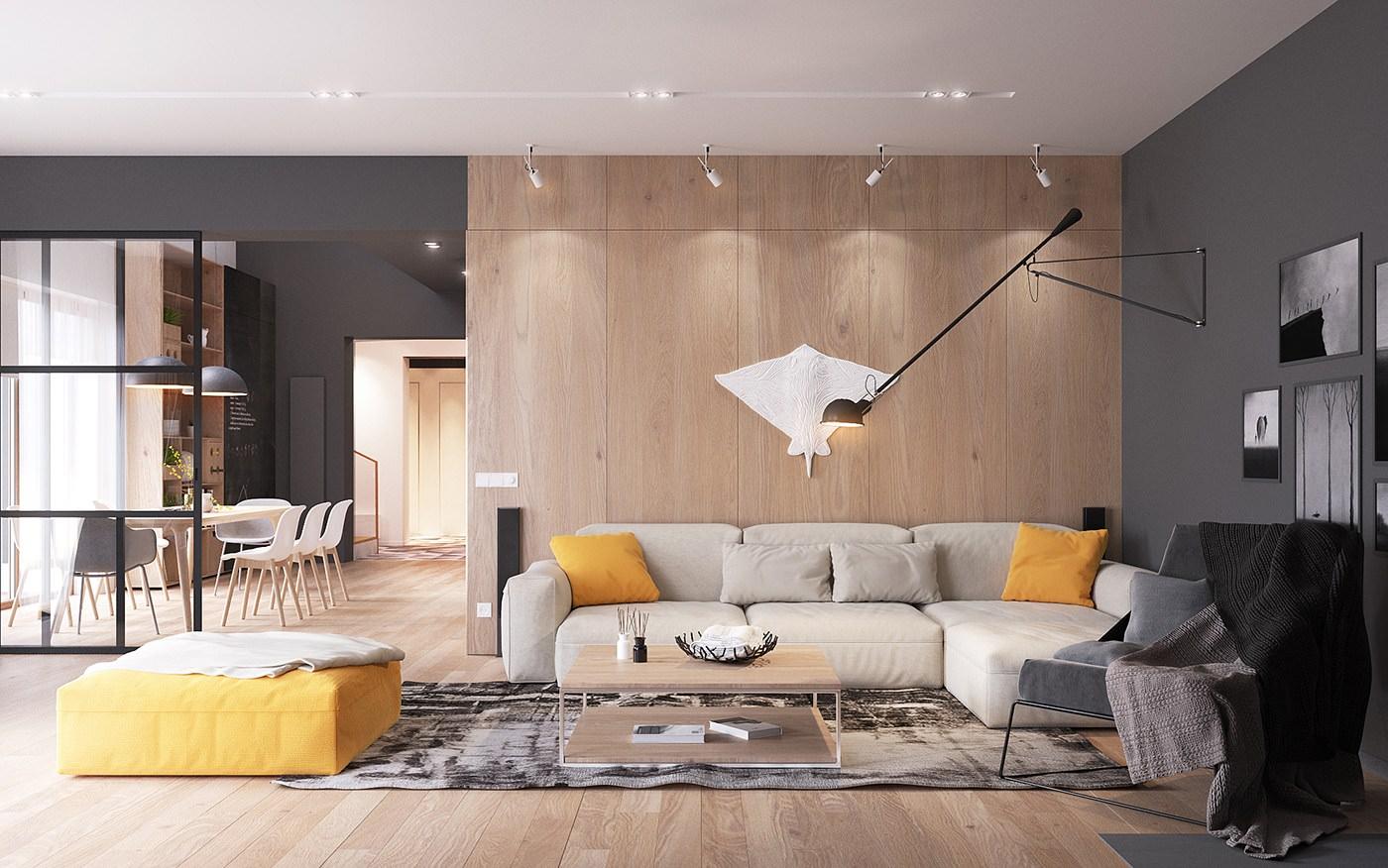 Non è detto che tu debba farlo. Originale Appartamento In Stile Scandinavo Moderno Ed Elegante Arredamento Casa Moderna Start Preventivi