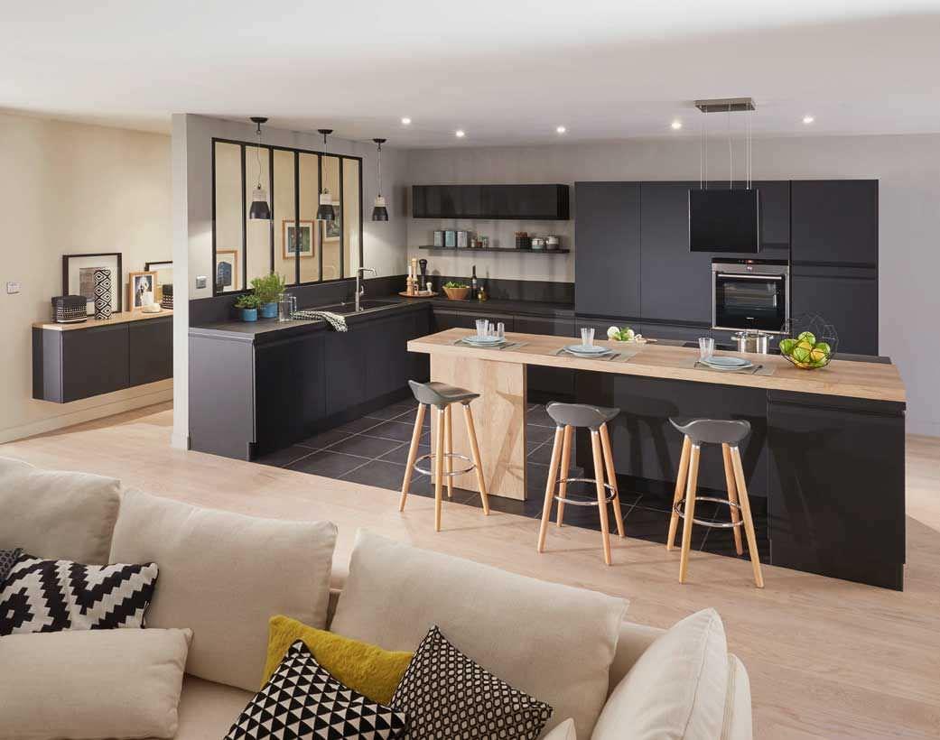Open space cucina con isola e con penisola. 100 Idee Cucine Moderne Da Sogno Con Isola Ad U Open Space Colori Cucina Moderna Piccola Start Preventivi