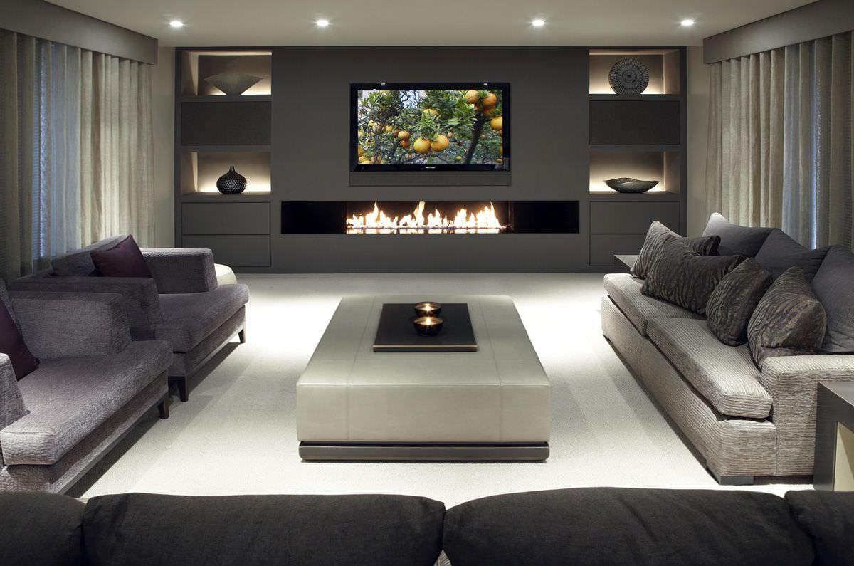 Il soggiorno può cambiare aspetto con una soluzione funzionale e di design: Parete Attrezzata In Cartongesso Per Il Soggiorno Info Prezzi E 40 Idee Moderne Start Preventivi