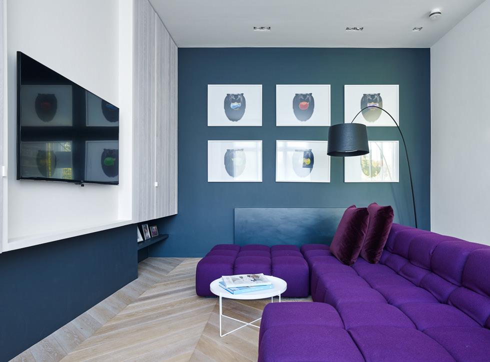 Sei alla ricerca di colori per un soggiorno moderno? Colore Pareti Soggiorno Cambiare Stile Senza Spendere Una Fortuna Idee Colori Parete Salotto Moderno Start Preventivi